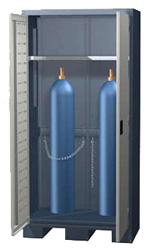 Шкаф для хранения ацетиленовых баллонов